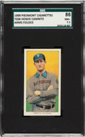 Baseball Cards:Singles (Pre-1930), 1909-11 T206 Piedmont Howie Camnitz (Arms Folded) SGC 86 NM+ 7.5....