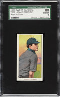 Baseball Cards:Singles (Pre-1930), 1909-11 T206 Sweet Caporal Howie Camnitz (Arm At Side) SGC 88 NM/MT 8 - Only One Higher....