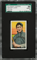Baseball Cards:Singles (Pre-1930), 1909-11 T206 Sweet Caporal Nap Lajoie (With Bat) SGC 88 NM/MT 8....