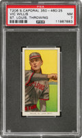 Baseball Cards:Singles (Pre-1930), 1909-11 T206 Sweet Caporal Vic Willis (St. Louis, Throwing) PSA NM 7....
