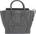 Luxury Accessories:Bags, Celine Kohl Calfskin Leather Micro Luggage Tote