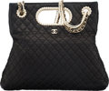Luxury Accessories:Bags, Chanel Black Quilted Lambskin Leather Westminster Pearl Co...