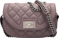 Luxury Accessories:Bags, Chanel Light Purple Quilted Calfskin Leather Shoulder Bag ...
