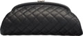 Luxury Accessories:Bags, Chanel Black Quilted Caviar Leather Timeless Clutch