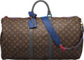 Luxury Accessories:Travel/Trunks, Louis Vuitton Monogram Coated Canvas Keepall Bandouliere 5...