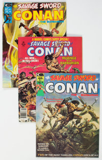 Savage Sword of Conan Group (Marvel, 1974-94) Condition: Average VG.... (Total: 2 Box Lots)