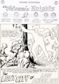 "Murphy Anderson Strange Adventures #126 Complete 9-Page Story ""The Lost City of Los Angeles!"" Original Art (DC..."