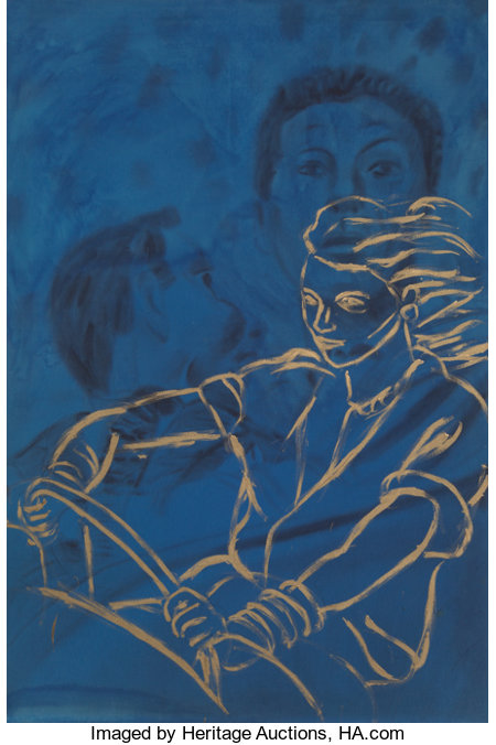 David Salle (b. 1952)Jim was Jim, 1980Acrylic on canvas72 x 48 inches (182.9 x 121.9 cm)Signed, titled, and date...