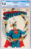 Golden Age (1938-1955):Superhero, Superman #47 (DC, 1947) CGC VF/NM 9.0 Off-white to white pages....