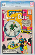 Silver Age (1956-1969):Superhero, Superman's Pal Jimmy Olsen #36 (DC, 1959) CGC VF 8.0 Off-white pages....