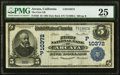 Arcata, CA - $5 1902 Date Back Fr. 595 The First National Bank Ch. # (P)10372 PMG Very Fine 25