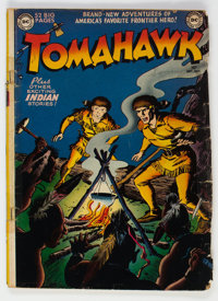 Tomahawk #1 (DC, 1950) Condition: GD