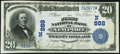 National Bank Notes:New Hampshire, Newport, NH - $20 1902 Date Back Fr. 642 The First National Bank Ch. # (N)888 Very Fine-Extremely Fine.. ...