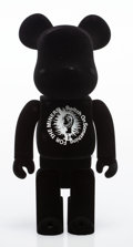 Collectible, BE@RBRICK X Jamie Reid. Advantage Cycle, 2009. Painted cast resin with black flocking. 10-3/4 x 5 x 3-1/2 inches (27.3 x...