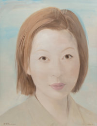 Qi Zhilong (b. 1962) No. 5, 2009 Acrylic on canvas 90-1/2 x 71 inches (229.9 x 180.3 cm) Signe