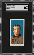 Baseball Cards:Singles (Pre-1930), 1909-11 T206 Sweet Caporal Rube Waddell (Portrait) SGC EX/NM 6....