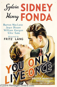 You Only Live Once (United Artists, 1937)