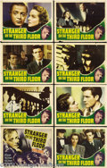 Movie Posters:Film Noir, Stranger on the Third Floor (RKO, 1940).... (8 pieces)