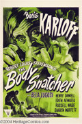 Movie Posters:Horror, The Body Snatcher (RKO, R-1952)....