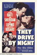 Movie Posters:Drama, They Drive By Night (Warner Brothers, 1940)....