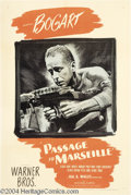 Movie Posters:War, Passage to Marseille (Warner Brothers, 1944)....