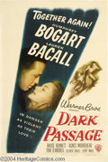 Movie Posters:Film Noir, Dark Passage (Warner Brothers, 1958)....