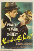 Movie Posters:Film Noir, Murder My Sweet (RKO, 1944)....