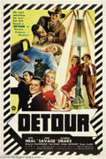 Movie Posters:Film Noir, Detour (PRC, 1945)....
