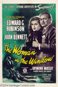 Movie Posters:Film Noir, The Woman in the Window (RKO, 1945)....