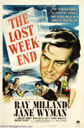 Movie Posters:Drama, The Lost Weekend (Paramount, 1945)....