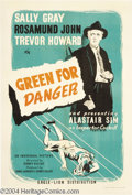 Movie Posters:Mystery, Green for Danger (Eagle-Lion Films Inc., 1946)....