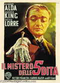 Movie Posters:Horror, The Beast with Five Fingers (Warner Brothers, 1946)....