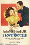 Movie Posters:Mystery, I Love Trouble (Columbia, 1948)....