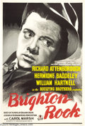 Movie Posters:Crime, Brighton Rock (Associated British Picture Corporation, 1947)....