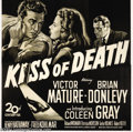 Movie Posters:Film Noir, Kiss of Death (20th Century Fox, 1947)....