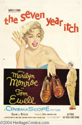 Movie Posters:Comedy, The Seven Year Itch (20th Century Fox, 1955)....