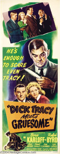 Movie Posters:Crime, Dick Tracy Meets Gruesome (RKO, 1947)....