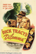 Movie Posters:Crime, Dick Tracy's Dilemma (RKO, 1947)....