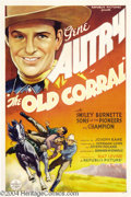 Movie Posters:Western, Old Corral (Republic, 1936)....