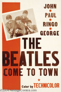 Movie Posters:Documentary, The Beatles Come to Town (Pathe', 1963)....