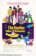 Movie Posters:Animated, Yellow Submarine (United Artists, 1968)....