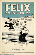 Movie Posters:Animated, Felix Cops the Prize (Winkler, 1925)....