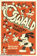Movie Posters:Animated, Oswald the Lucky Rabbit (Universal, 1934)....
