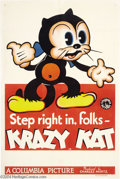 Movie Posters:Animated, Krazy Kat (Columbia, 1934)....