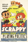 Movie Posters:Animated, Scrappy and His Pals (Columbia, 1936)....