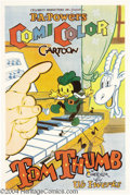Movie Posters:Animated, Tom Thumb (Powers ComiColor Cartoons, 1936)....