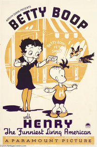 Betty Boop with Henry (Paramount, 1935)