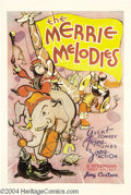 Movie Posters:Animated, Merrie Melodies (Warner Brothers, 1933)....