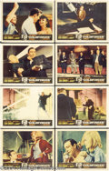 Movie Posters:Action, Goldfinger (United Artists, 1964).... (8 pieces)