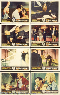 Goldfinger (United Artists, 1964).... (8 pieces)